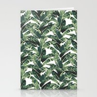 banana leaf Stationery Cards featuring BANANA LEAF by bows & arrows