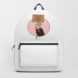 Protest and Resist Backpack