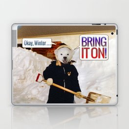 Okay, Winter . . . Bring it on! Laptop & iPad Skin