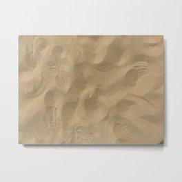Sand at Stockton Sand Dunes, Port Stephens, Australia Metal Print