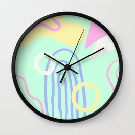 Land Of Smiles Wall Clock