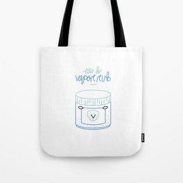 Vapor Rub Perfume Tote Bag