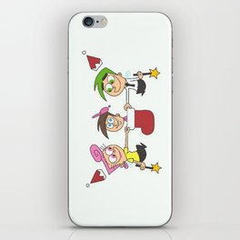 fairly odd christmas iPhone Skin