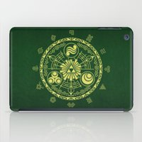 triforce iPad Cases featuring Zelda Triforce  by DavinciArt