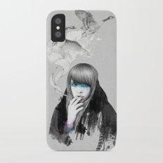 Swan Love iPhone X Slim Case
