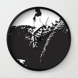 LET ME RIDE YOUR DINOSAUR  Wall Clock
