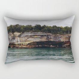 Pictured Rocks I Rectangular Pillow
