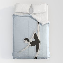 Blue Dancer Comforters