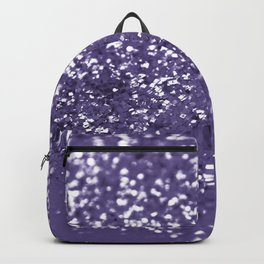 Sparkling ULTRA VIOLET Lady Glitter #1 #shiny #decor #art #society6 Backpack