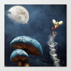 Tales of the Night Canvas Print