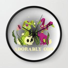 Adorably Odd Wall Clock
