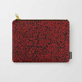 thought 2, red on black Carry-All Pouch
