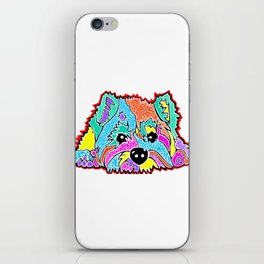 Cotton Candy Dots Westie West Highland Dog Pet Terrier Scottish Scotland Cairn Border Glen Fox Kerry iPhone Skin