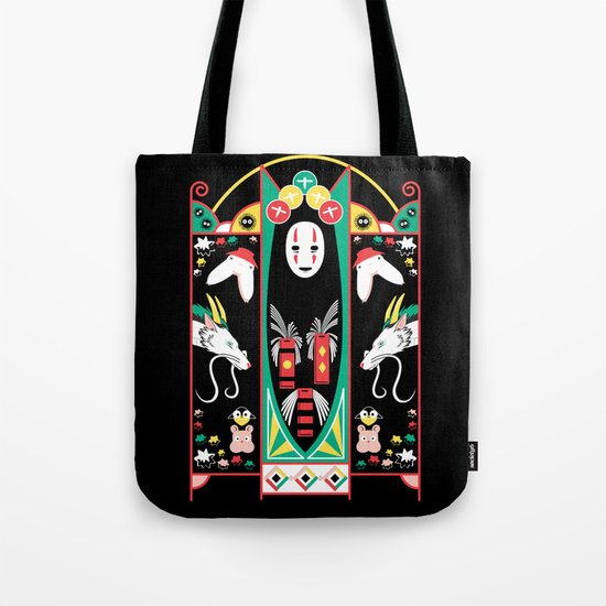 Spirited Deco Tote Bag
