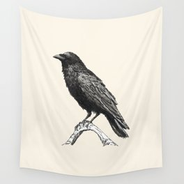 Raven M Wall Tapestry