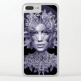 Indigo Girl Clear iPhone Case