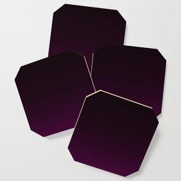 Aubergine Gradient Coaster