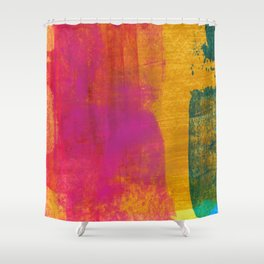 Abstract No. 393 Shower Curtain