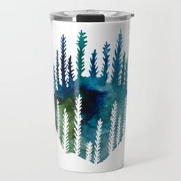 The Trees That Surround Us Travel Mug