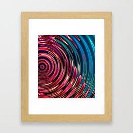 Ripple Framed Art Print