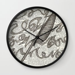 Brainstorming Wall Clock