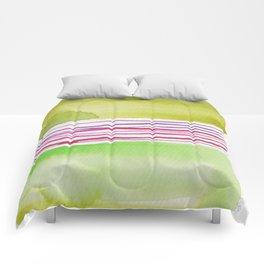 16    |181026 Lines & Color Block | Watercolor Abstract | Modern Watercolor Art Comforters