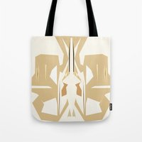 trumpet Tote Bags featuring Trumpet by Warfield