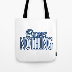 Rue Nothing Blue Logo Tote Bag