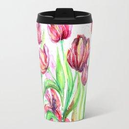 Tulips in Spring Travel Mug