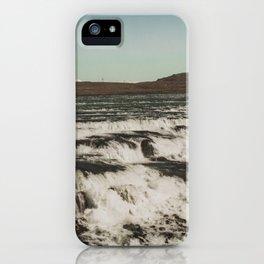 Waterfall Gullfoss iPhone Case