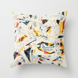 Pattern № 65 Throw Pillow