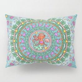 Mermaid Mandala Pillow Sham