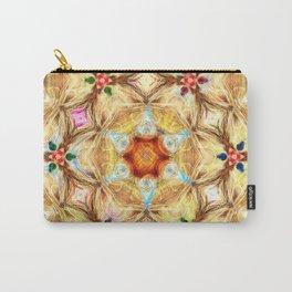 kaleidoscope - releitura de um jardim Carry-All Pouch