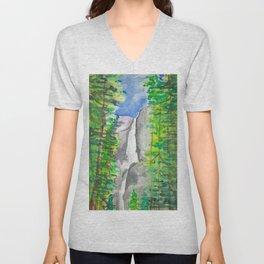 The Falls Unisex V-Neck