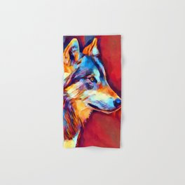 Wolf Portrait 2 Hand & Bath Towel