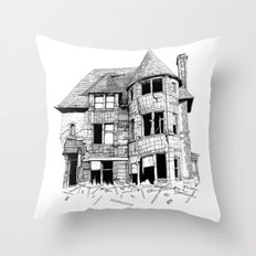 The home in your heart Throw Pillow