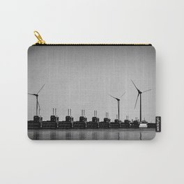 Turbines by the sea Carry-All Pouch