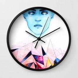 FRAGMENT HEARTS Wall Clock
