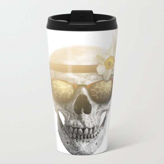 "Mortem in Gloria ""Ati"" Metal Travel Mug"