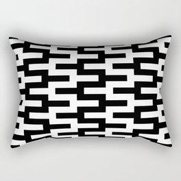 Geometric Pattern #89 (zigzag) Rectangular Pillow