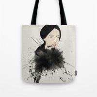 pop art Tote Bags featuring Pop by John Murphy