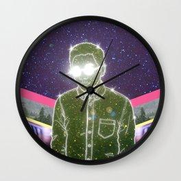 """Anything in Return"" by Tim Lukowiak Wall Clock"