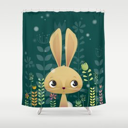 Bunny! Shower Curtain