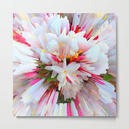 Flowers of  Pure Love Essence Metal Print