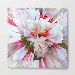 Flowers of  Pure Love Essence Metal Print