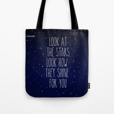Look How They Shine For You 2.0 Tote Bag