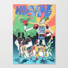 Usagi Battle Squadron Go!! Canvas Print