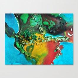 Watercolorfluid 2 Canvas Print