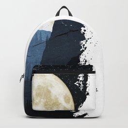 Ski and Moon Backpack
