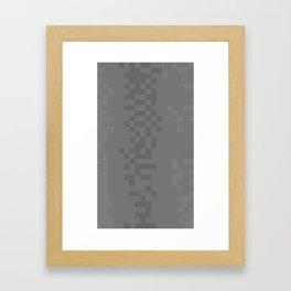 ABSTRACT PIXELS #0004 Framed Art Print